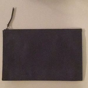Madewell Large Leather Clutch